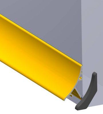 Stormguard Concealed Rain Deflector 950mm Gold