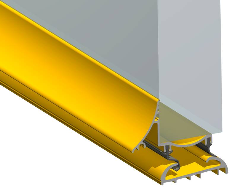Stormguard Trimline Rio Flo-X Weatherbar Gold 2000mm