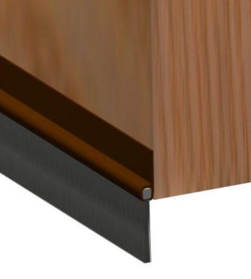 Brushstrip 914mm Brown PVC 02SG020