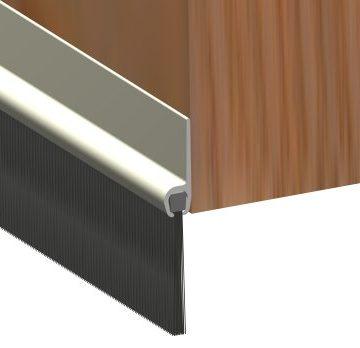 Brushstrip 914mm White PVC 02SG020