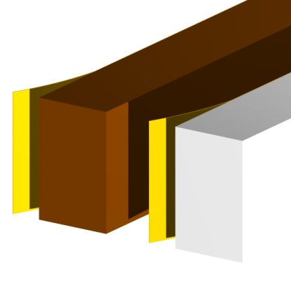 Xtra Thick Foam 3.5m Brown-86