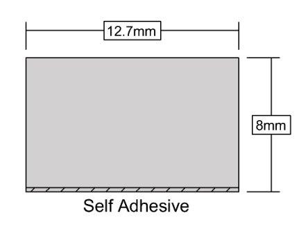 Xtra Thick Foam 3.5m White-84
