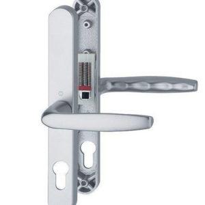 Hoppe Brugge F1 Matt Silver 68mm Centre Euro Door Handle To Suit Fullex Locks