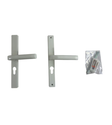 Hoppe White 48mm Centre Euro Profile Door Handle