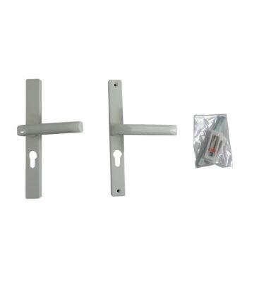 Hoppe White 48mm Centre Euro Profile Door Handle