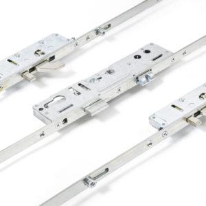 Lockmaster 2Hook 4Roller 35mm Backset 92mm Centre Door Lock PLSP143-19