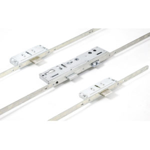 Lockmaster 3 Deadbolt 45mm Backset 92mm Centre Round Faceplate Lock PLSP73-19