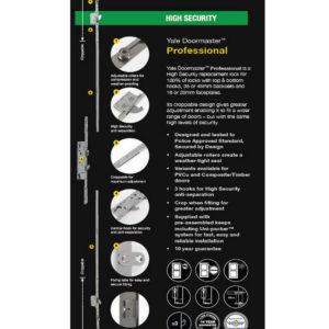 Yale Doormaster Professional 3Hook 2Roller 35/92 Repair Lock