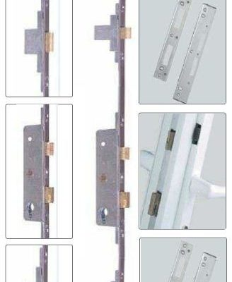 Fullex SL-16 Deadbolt Lock 37mm Backset 68mm Centre