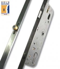 Ferco 4 Roller 28mm Backset 70mm Centre Door Lock
