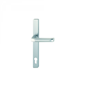 Hoppe F1 Matt Silver 70mm Centre Door Handle