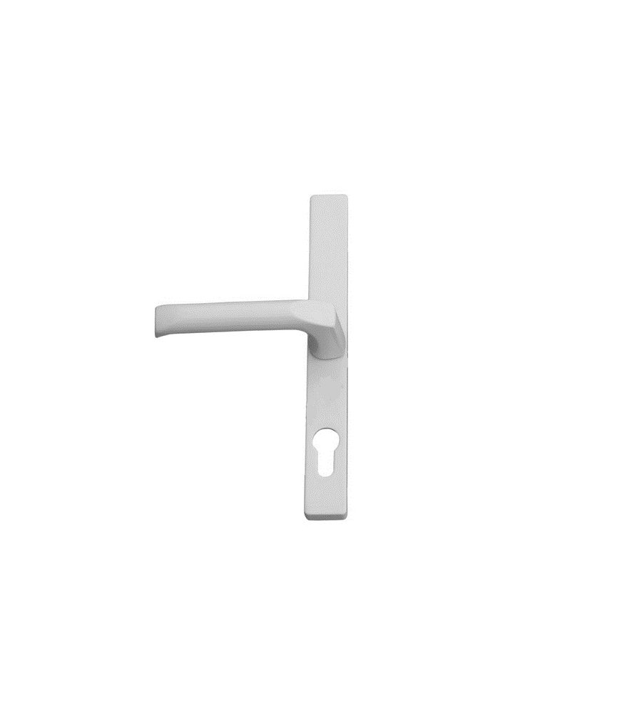 Hoppe White 70mm centre Door Handle-0