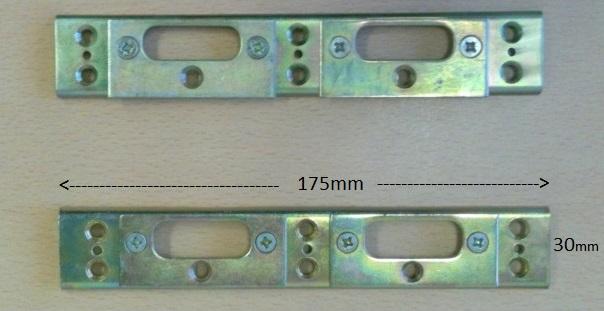 Double Adj Shootbolt Keep Silver PLK32-19