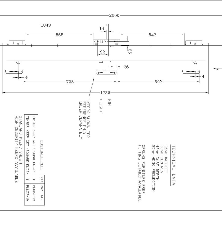 PLSP18 Line Drawing