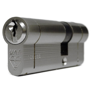 UAP Anti Snap 35/55 (90mm Overall) Euro Profile Nickle Cylinder Lock