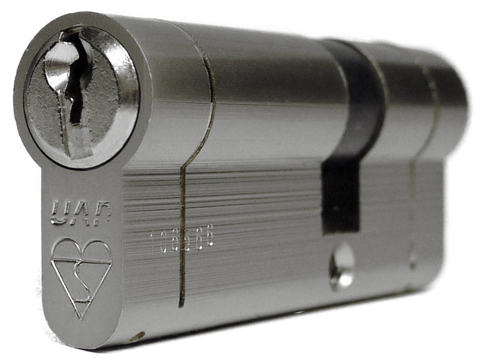 UAP Anti Snap 35/35 (70mm Overall) Nickle Euro Profile Cylinder Lock