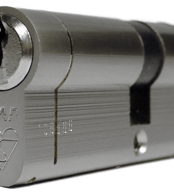 UAP Anti Snap 45/50 (95mm Overall) Euro Profile Nickle Cylinder Lock
