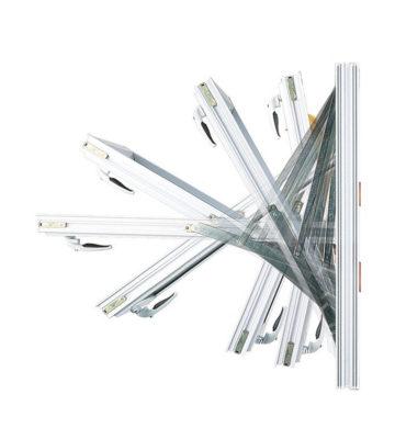 Yale Module 8 (718mm) Top Turn Window Hinge (pair)