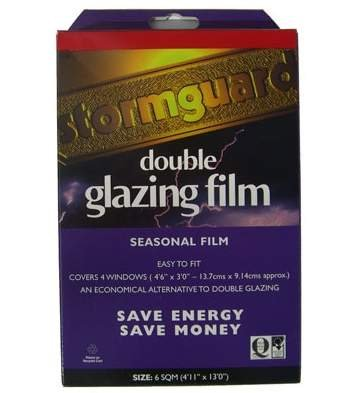 Stormguard 11SR066- 6sqm Double Glazing Window Insulation Film