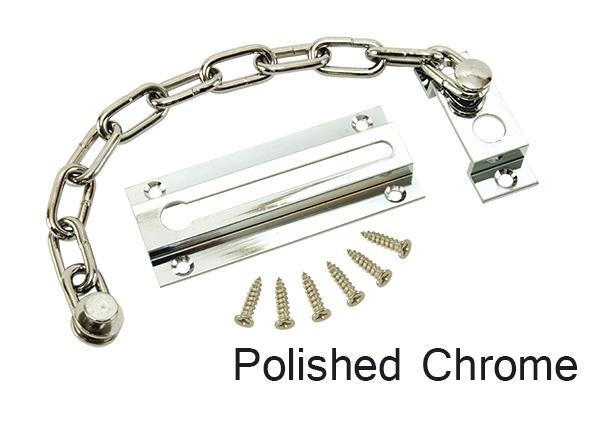 Max6mum Security Sliding Door Chain CHROME