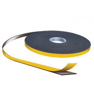 1.5mm X 9mm Black Double Sided Security Tape 40m