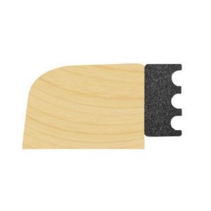 2mm X 8mm Black EPDM Dry Glaze Tape 200M