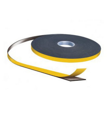 3mm X 9mm Black Double Sided Security Tape 25m