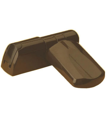 Trojan Patriot 3D Flag Hinge Brown 21.5mm