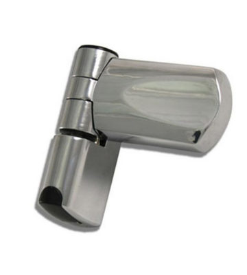 Trojan Patriot 3D Flag Hinge Chrome 21.5mm