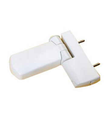 Trojan Patriot Midi 3D Flag Hinge White 21.5mm