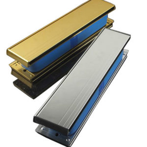 """Yale P207 Firemaster 12"""" Letterplate Gold Anodised"""