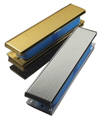 "Yale P207 Firemaster 12"" Letterplate Gold Anodised"