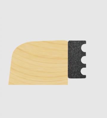 5mm X 10mm Black EPDM Dry Glaze Tape 100M