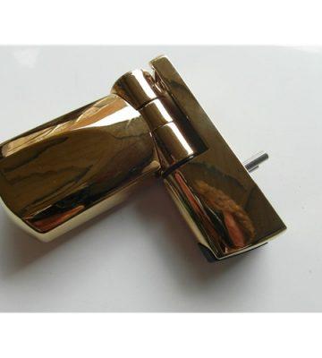 Trojan Patriot 3D Flag Hinge Gold 21.5mm