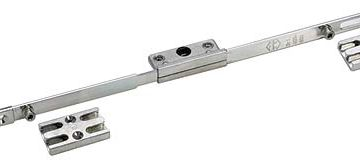 Maco Offset Locking Window Espagnolette 25mm Backset 7.7mm Cams 400mm Long