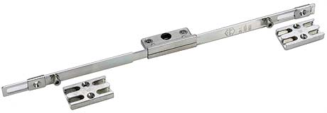 Maco Offset Locking Window Espagnolette 25mm Backset 7.7mm Cams 1000mm Long