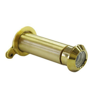 160 Deg Brass Door Viewer 12mm Dia 35-55mm
