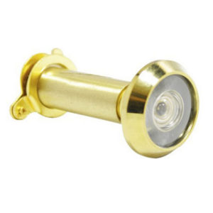 180 Deg Brass Door Viewer 12mm Dia 35-55mm