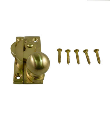 197 Clo Fastener Non Locking Polished Brass