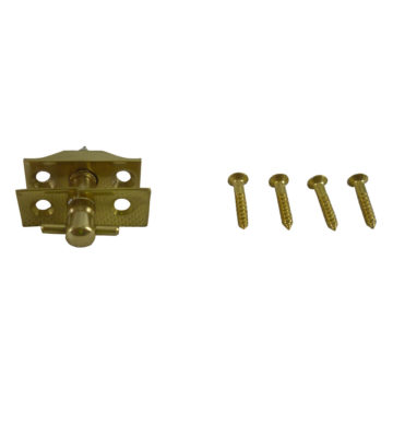 199 Baton Rod Screw Polished Brass