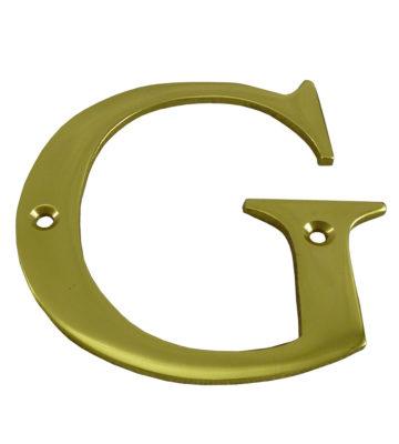 """3"""" Brass Letter G"""