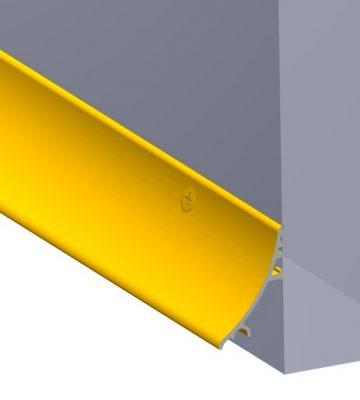 Stormguard 32mm Face Fixed Rain Deflector 2000mm Gold