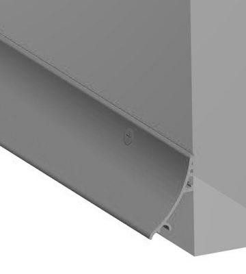 Stormguard 32mm Face Fixed Rain Deflector 2000mm Silver