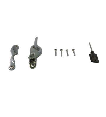 183L Fitch Fastener Locking C/w Narrow Keep Polished Chrome Plated