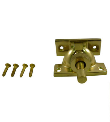 185 Brighton Fastener Small Non Locking Polished Brass