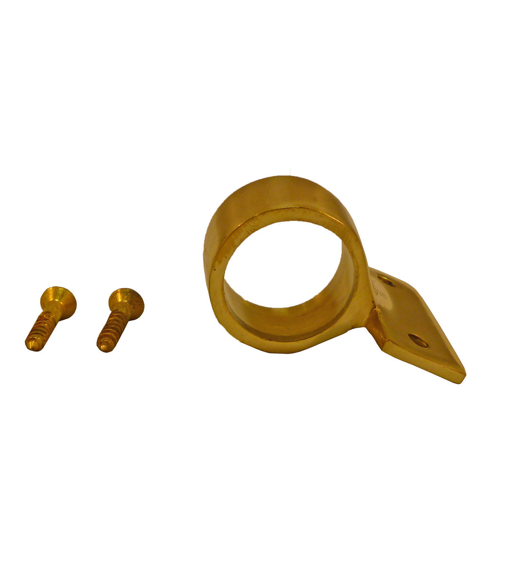 Sash Ring Lift Centre Mounting 30mm Polished Brass