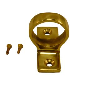187 Sash Eye Polished Brass