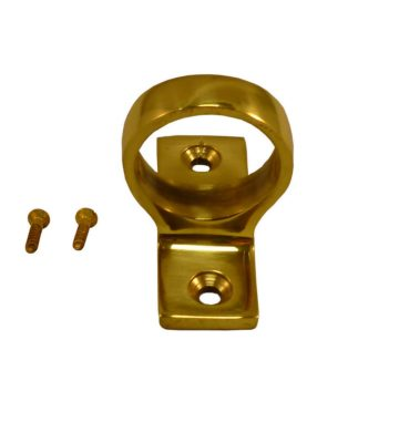 187 Sash Eye Polished Brass