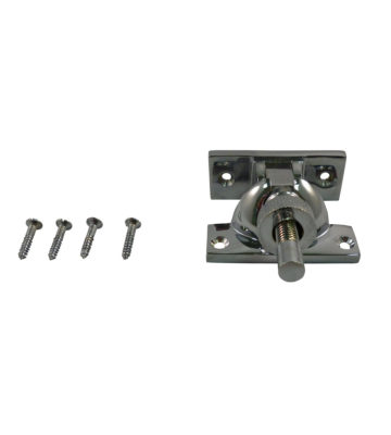 161 Brighton Fastener Non Locking Polished Chrome Plated