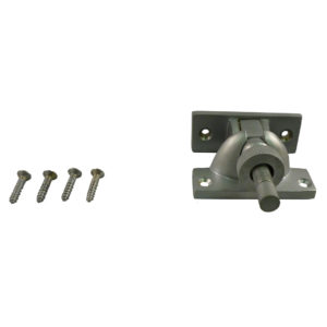 185 Brighton Fastener Small Non Locking Satin Chrome